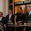 Louis Vuitton Reopens In Melbourne