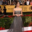 Emmy Rossum At The 21st Annual Screen Actors Guild Awards - Arrivals (2015)