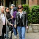 Dakota Johnson out in New York with Matt Hitt (May 3, 2016) - 454 x 681