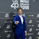 David Bisbal-  '40 Principales' Awards Nominated Dinner 2018 - 399 x 600