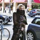 Courtney Love out in Los Angeles - 454 x 504