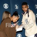 Nelly and Ashanti - the announcement of the nominations for the 45th Annual GRAMMY Awards- January 07, 2003
