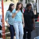 Jessica Biel on the set of 'Shock And Awe' in New Orleans, Louisiana on October 31, 2016