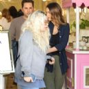 Jessica Alba – Leaving a business lunch in Beverly Hills