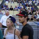 Taylor Lautner and Maika Monroe - 454 x 302