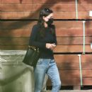 Courteney Cox – Shops for gardening supplies in Malibu