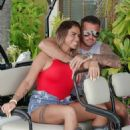 Katie Price and boyfriend Carl Woods on holiday in the Maldives - 454 x 569