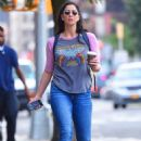 Sarah Silverman out and about in NYC - 454 x 681