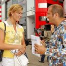 Maria Riesch - Formula 1, Hockenheimring Germany - 25.07.2010 - 454 x 302