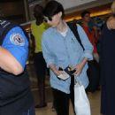 Rooney Mara at LAX Airport in LA