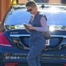 Scarlett Johansson – Arriving at Disney Studios in Burbank