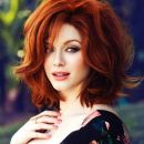 Celebrities with dyed red hair