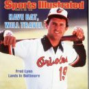 Fred Lynn - Sports Illustrated Magazine Cover [United States] (18 March 1985)
