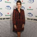 Nikki Reed attends the 2014 Heineken US Open Kick Off Party at PH-D Rooftop Lounge at Dream Downtown on August 21, 2014 in New York City
