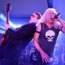 Dee Snider performs during the Rock N' Roll Heaven And Old Bridge Metal Militia on May 11, 2013 in Freehold, NJ - 454 x 315