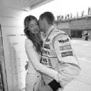David Coulthard and Simone Abdelnour