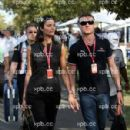 David Coulthard and Karen Minier