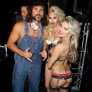 Brody Jenner deejays during the annual Halloween Party, hosted by Playboy and Hugh Hefner, at the Playboy Mansion on October 24, 2015 in Los Angeles, California - 417 x 600