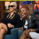 Amber Rose on Watch What Happens: Live in New York City - October 25, 2015 - 454 x 301