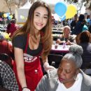 Lindsey Morgan – Los Angeles Mission Easter Celebration in LA - 454 x 662