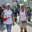 Ralf Schumacher and Cora Brinkmann