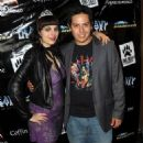 Santino Ramos and Nicole Sixx at The Heavy Metal 35th Anniversary Comic Con
