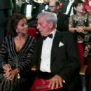 Isabel Preysler and Mario Vargas Llosa- Goya Cinema Awards 2016 - 454 x 303
