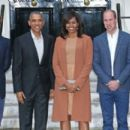 Prince William, Duchess Catherine and Harry dine with President Obama - 454 x 274