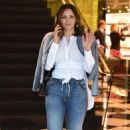 Katharine McPhee in Jeans – Shopping at Prada on Rodeo Drive in Beverly Hills - 454 x 681