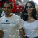 Juan Montoya and Connie Fraydell