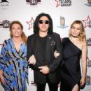 Gene Simmons attends Heroes For Heroes: Los Angeles Police Memorial Foundation Celebrity Poker Tournament at Avalon Hollywood on November 10, 2018 in Los Angeles, California - 454 x 306
