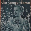 Lilian Harvey - Die Junge Dame Magazine Cover [Germany] (28 March 1937)
