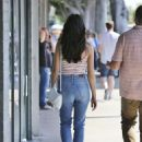 Crystal Reed in Jeans Out in Los Angeles 08/24/2016 - 454 x 642