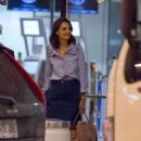 Katie Holmes Arrives in Montreal - 454 x 514