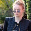 Sophie Turner With Her Boyfriend – Out in Beverly Hills 1/5/ 2017