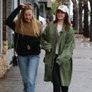 Lana Del Rey and a friend are spotted out shopping in Sherman Oaks, California on January 23, 2017 - 437 x 600