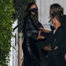 Leonardo DiCaprio and Camila Morrone – Seen with friends at Giorgio Baldi