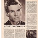 Horst Buchholz - Mein Film Magazine Pictorial [Austria] (27 April 1956)