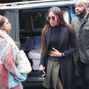 Naomi Campbell – Arrives at Global Offices in London