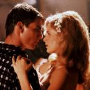 Kyra Sedgwick and Tom Cruise