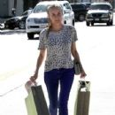 Diane Kruger was seen hauling 2 large shopping bags out of James Perse in West Hollywood