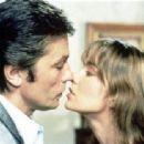Alain Delon and Anne Parillaud