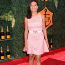 Rosario Dawson At 5th Annual Veuve Clicquot Polo Classic In Pacific Palisades