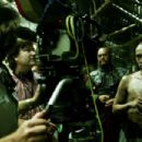 Behind the scene GORE VERBINSKI (at camera), CHOW YUN-FAT Photo Credit: Peter Mountain © Disney Enterprises, Inc. All Rights Reserved