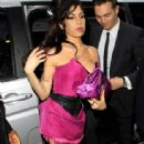 "Amy Winehouse Joins New Beau At ""Psychosis"" Premiere"