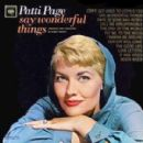 Patti Page - Say Wonderful Things