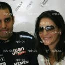 Juan Montoya and Connie Fraydell - 450 x 299