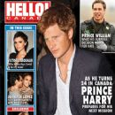 Prince Harry Windsor, Prince William Windsor, Goldie Hawn, Victoria Beckham, Jennifer Lopez, Marc Anthony - Hello! Magazine Cover [Canada] (29 September 2008)