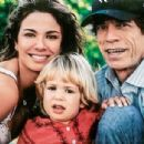 Luciana Gimenez and Mick Jagger with their little son Lucas in New York - 2002