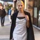 Karolina Kurkova – Leaving The Greenwich Hotel in New York - 454 x 681